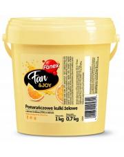 FAN&JOY POMARAŃCZOWE KULKI ŻELOWE 1 KG